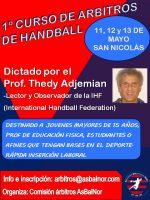 Capacitación para árbitros de handball