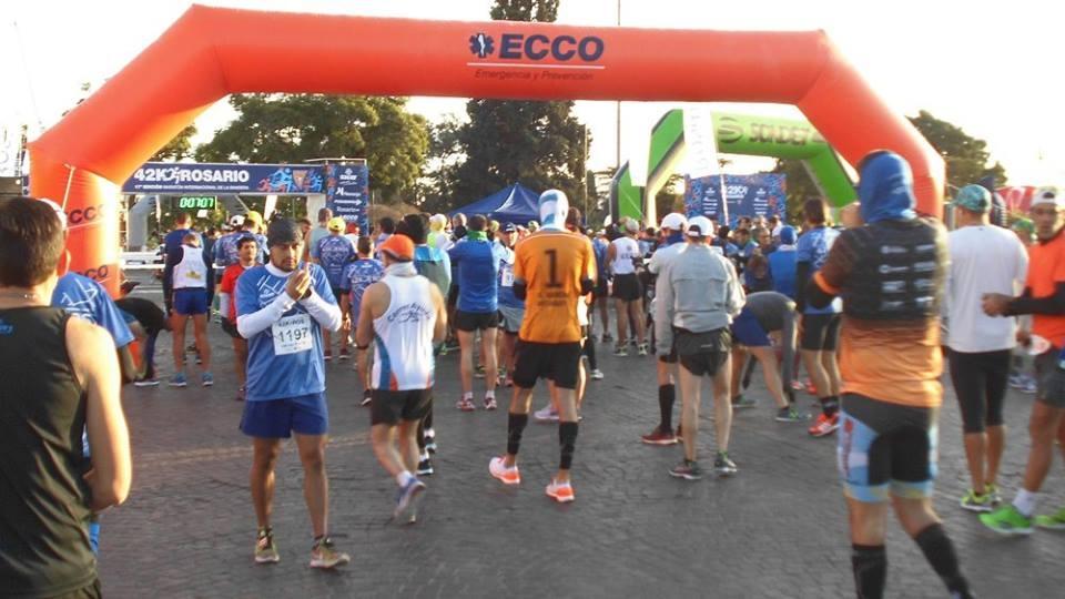Maraton 42 K Rosario 7