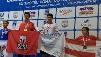Natación: Felipe Lancha con medalla de oro en Brasil