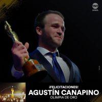 Canapino ganó el Olimpia de oro y Sol Ordas el de plata