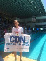 Natación: Llegó el Oro para Julieta Moyano