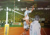 Sergio José Periotto del otro lado de la red se prende con Deporteshoy.com.ar